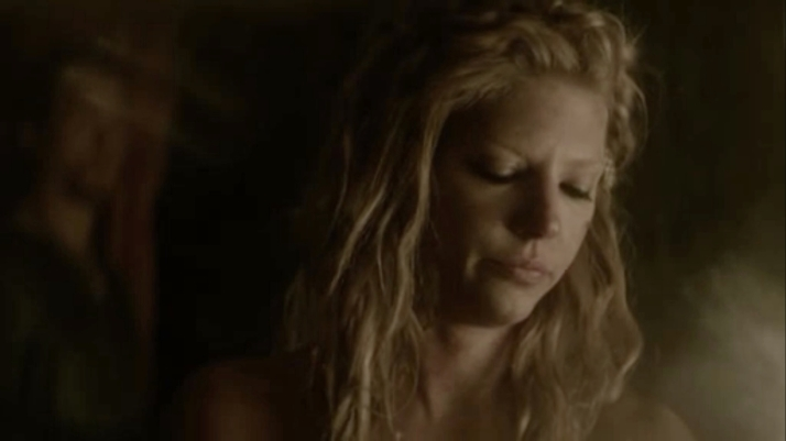 Lagertha tries to recover from the disaster Kalf asks How are you  her only reply Alive