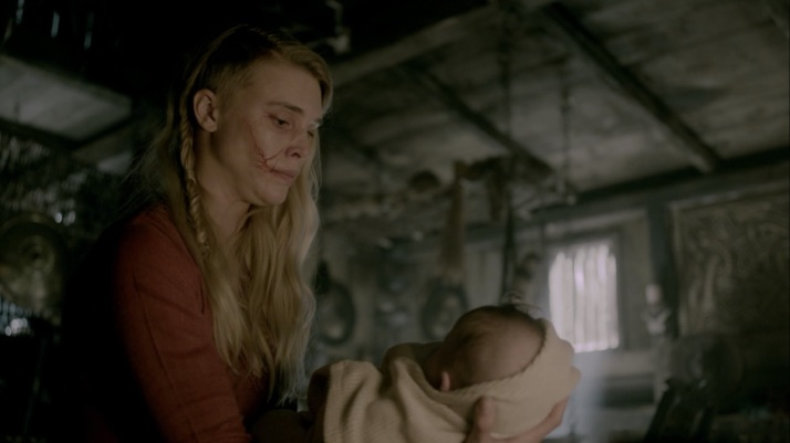 please take my baby  I can not care for her  Aslaug's reply of course you can