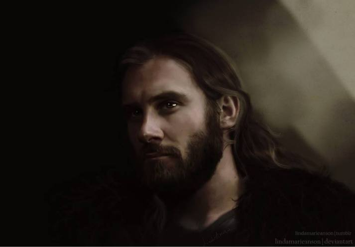 portrait of Rollo by Lindamarieanson of Deviant Art
