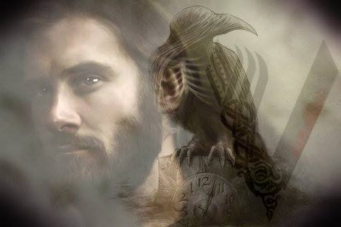 Portrait of Rollo's destiny. Credit to Ines Jagger of Vikings Aftermath group and to lindamarieanson of deviant art.