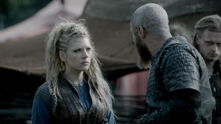 Ragnar has to put them all in their place and shut them up!