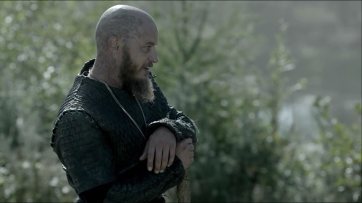 ragnar: I am a dying man and when I die I want to be reunited with my friend who is christian