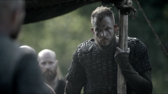 Ragnar points out everyone in his admonishment of I lead not you not you and not you