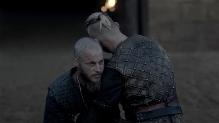 ragnar's look at rollo just you wait too brother we shall have words about this later
