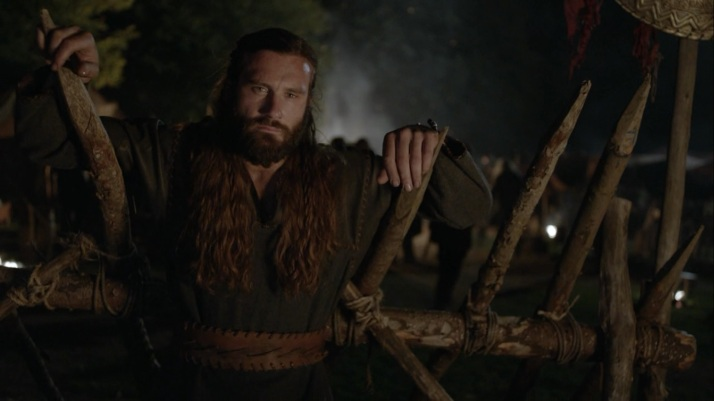 rollo stands apart during the party he watches paris and thinks of the Seer's words to him