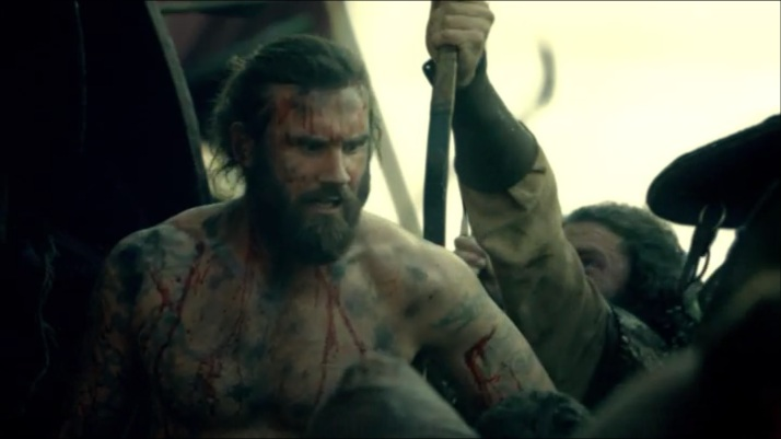 Rollo watches his men fall all around him