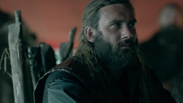 the news of floki taking command causes a wtf moment with rollo
