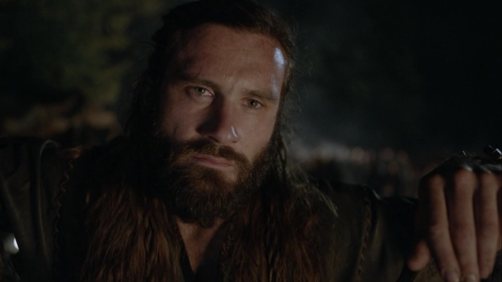 the seer's voice in rollo's head  You would go down now and dance naked on the beach in joy