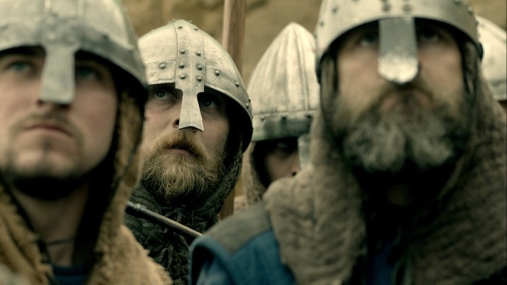 these men are as inspired by her courage and her speech as the vikings are by speeches of Odin