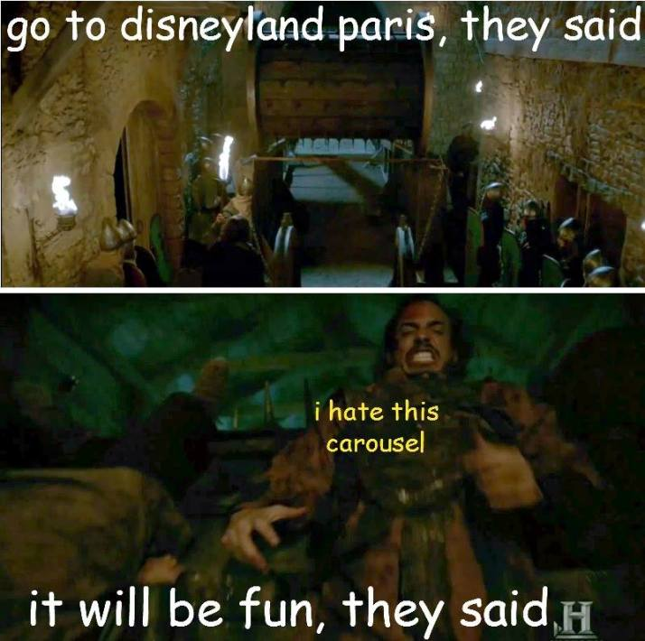 Vikings disneyland paris from Athelstan's facebook  page