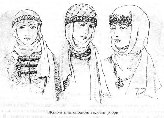 10th century headwear