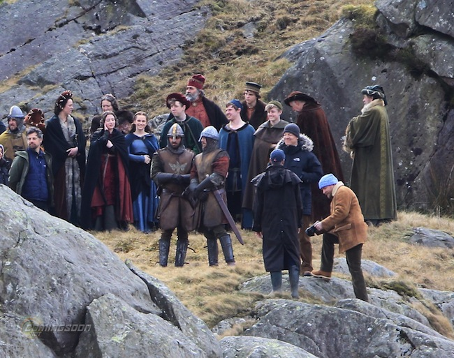 'Knights of the Roundtable: King Arthur' filming in Wales Featuring: Guy Ritchie Where: Conwy, United Kingdom When: 14 Apr 2015 Credit: WENN.com