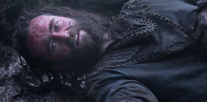 a fallen warrior warns Rollo