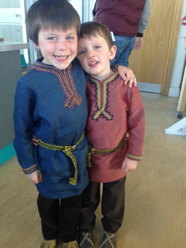 Athelred and Alfred Judith's son in season 4 vikings