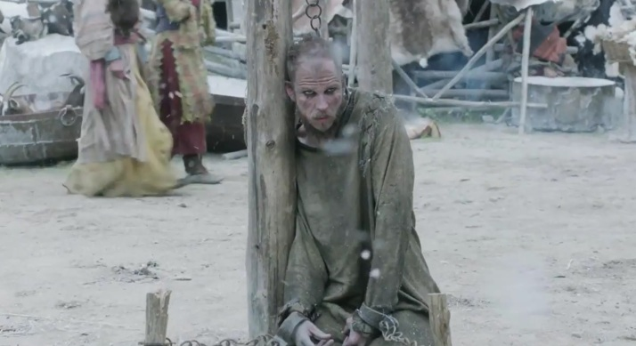 Floki's punishment begins.