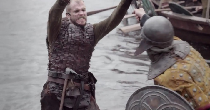floki fighting later in the preview