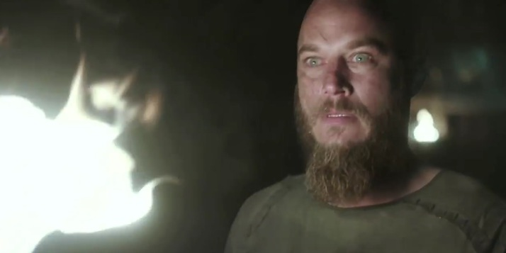it's not often we see fear on Ragnar's face
