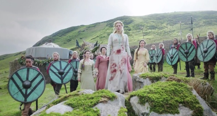 lagertha and her shieldmaidens
