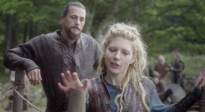 lagertha and kalf are still together