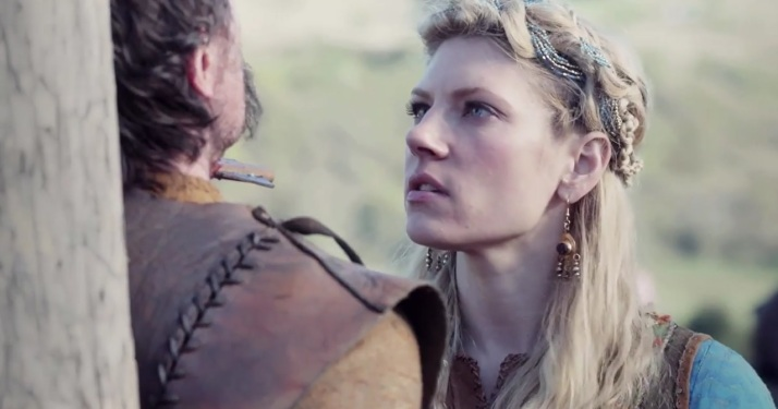 lagertha takes revenge on Einar