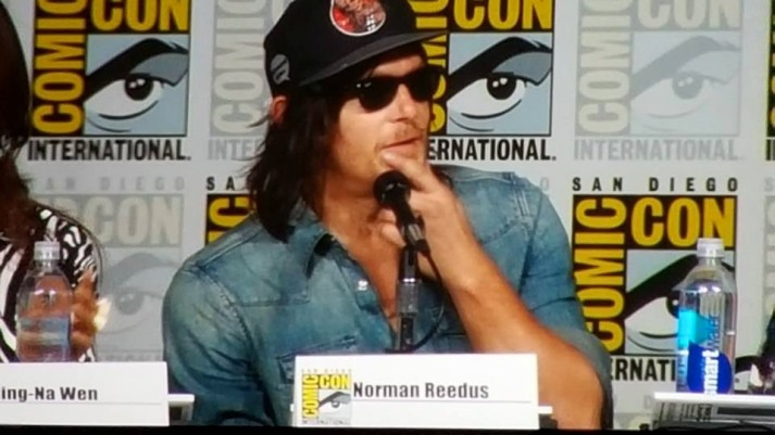 sitting in on Norman Reedus discussion