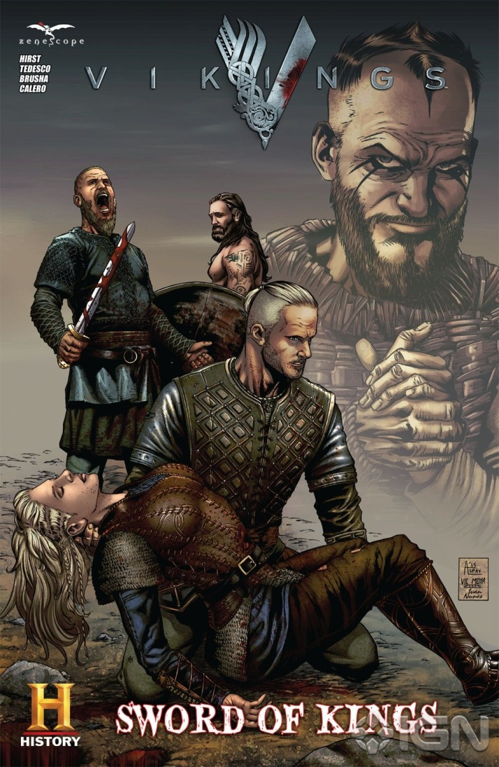 vikings comic for comi-con