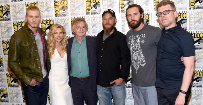 Vikings at San Diego Comicon 2014
