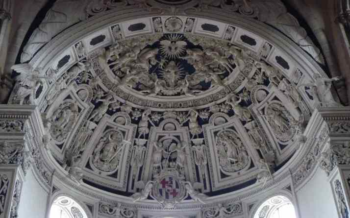 03-23 Trier Cathedral Ceiling