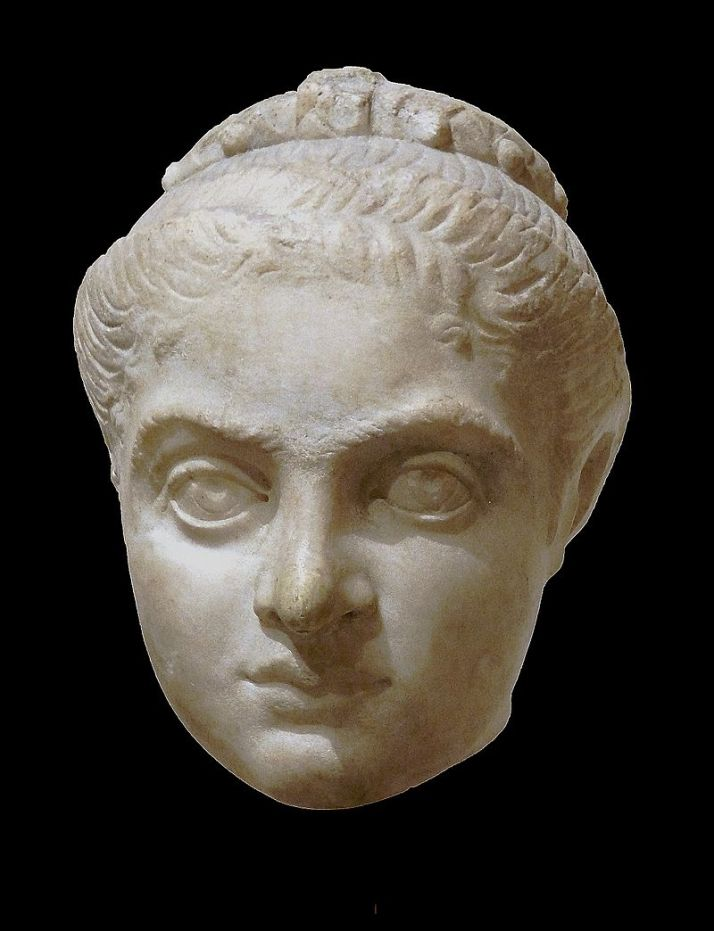 sculpture/bust of Fausta