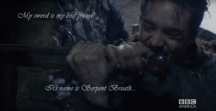 Uhtred and Serpent Breath