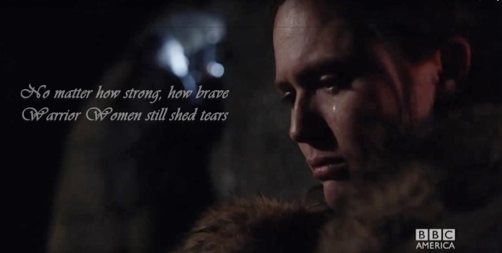 warrior women shed tears