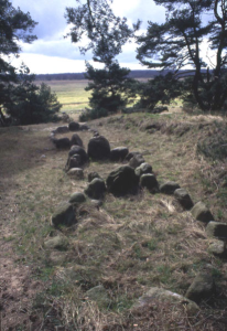 Viking graves at Altes Lager in western Pomerania