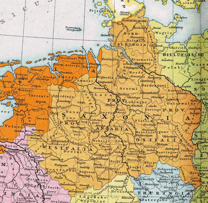 Charlamagne's Saxony