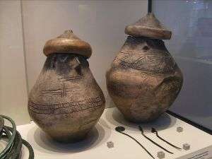 Earliest Pomeranian cultural artifacts-faced urns
