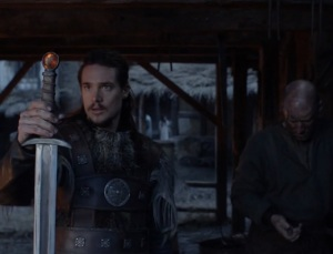 Introducing Uhtred's best friend Serpent Breath