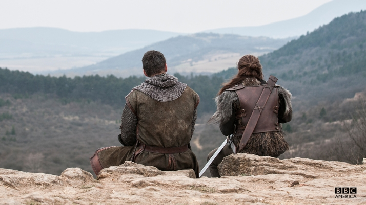 Leofrich warns and advises Uhtred to head for Alfred and tell of the events...
