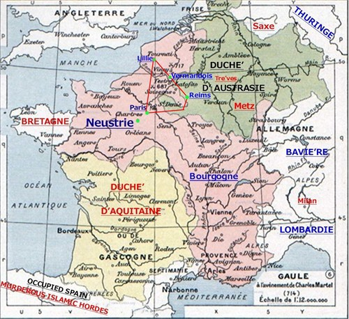 map of ancient france