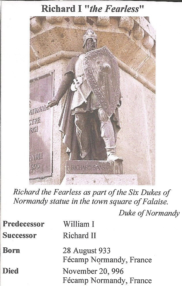 Richard the fearless