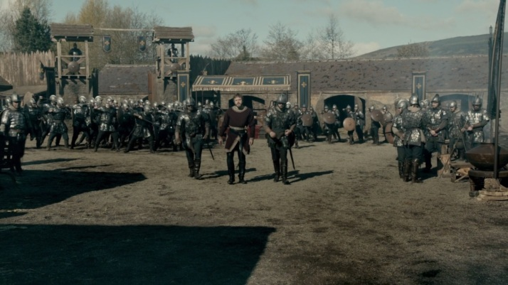 aethelwulf is in charge of training the army.
