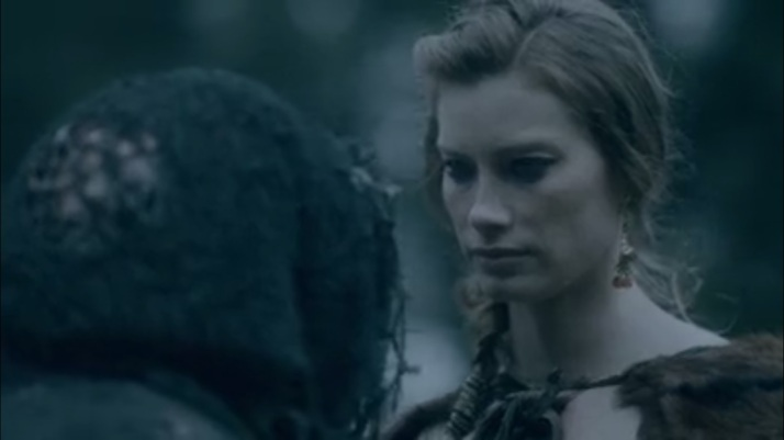aslaug asking who will succeed after Ragnar's death