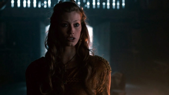 aslaug stands up to ragnar for floki because he's right what did he do so wrong he killed a christian.