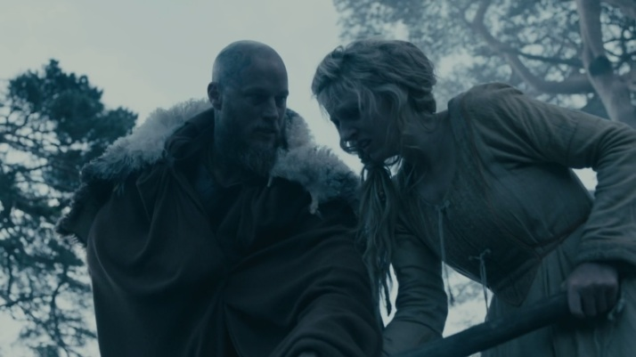 does this death have any affect on ragnar well he does step in and dig the grave...