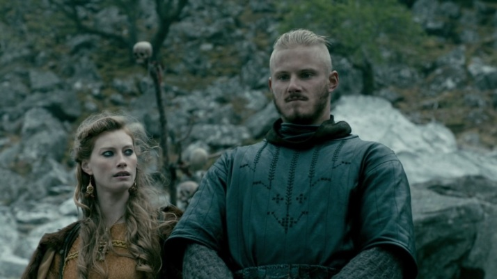 even aslaug is not too sure about bjorn's decision