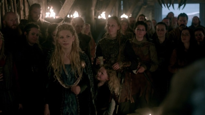 kalf invites lagertha to the front