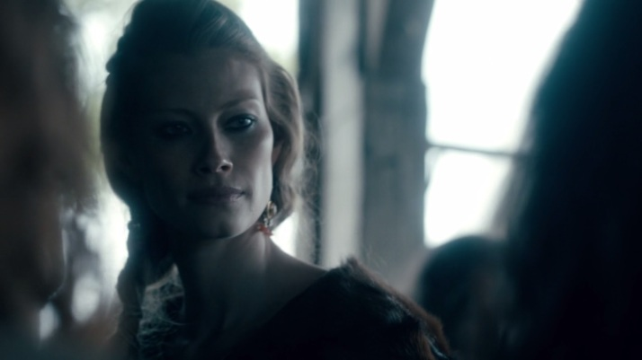 one item in particular catches aslaug's eye