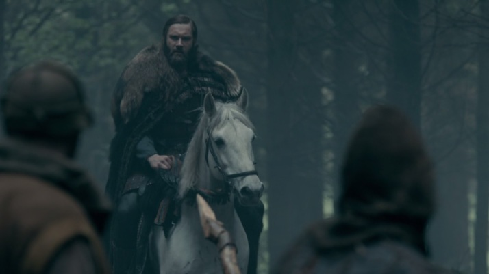 rollo arrives at the camp seemingly alone