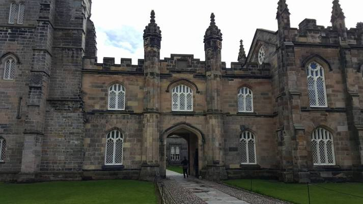 King's College entrance in Old Aberdeen