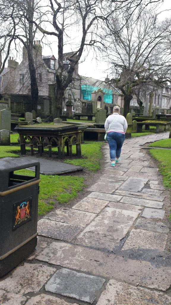 walkway to St Nicholas Kirk