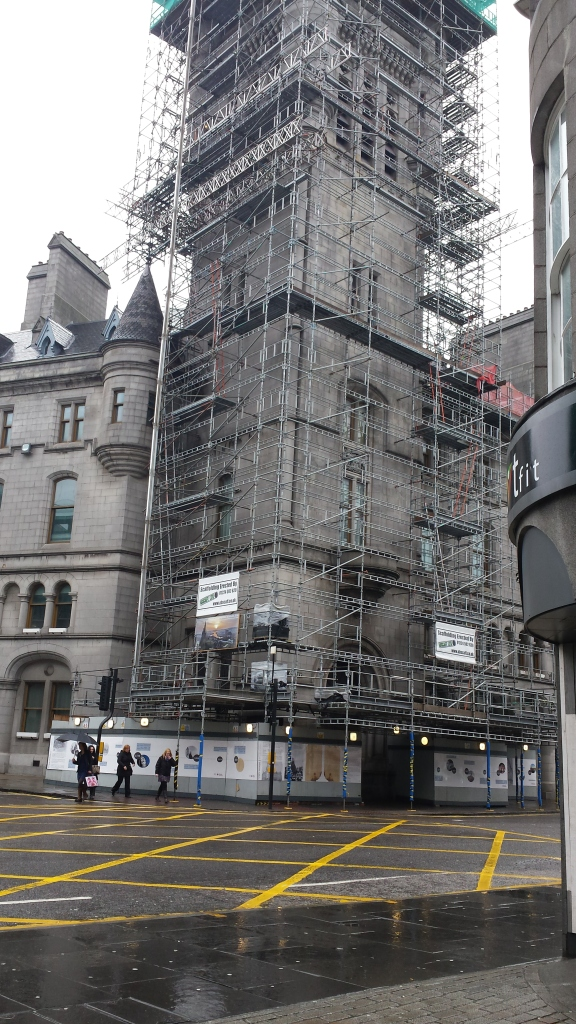 Tollbooth tower renovations