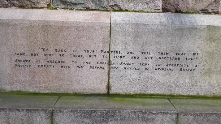 William Wallace inscription 2
